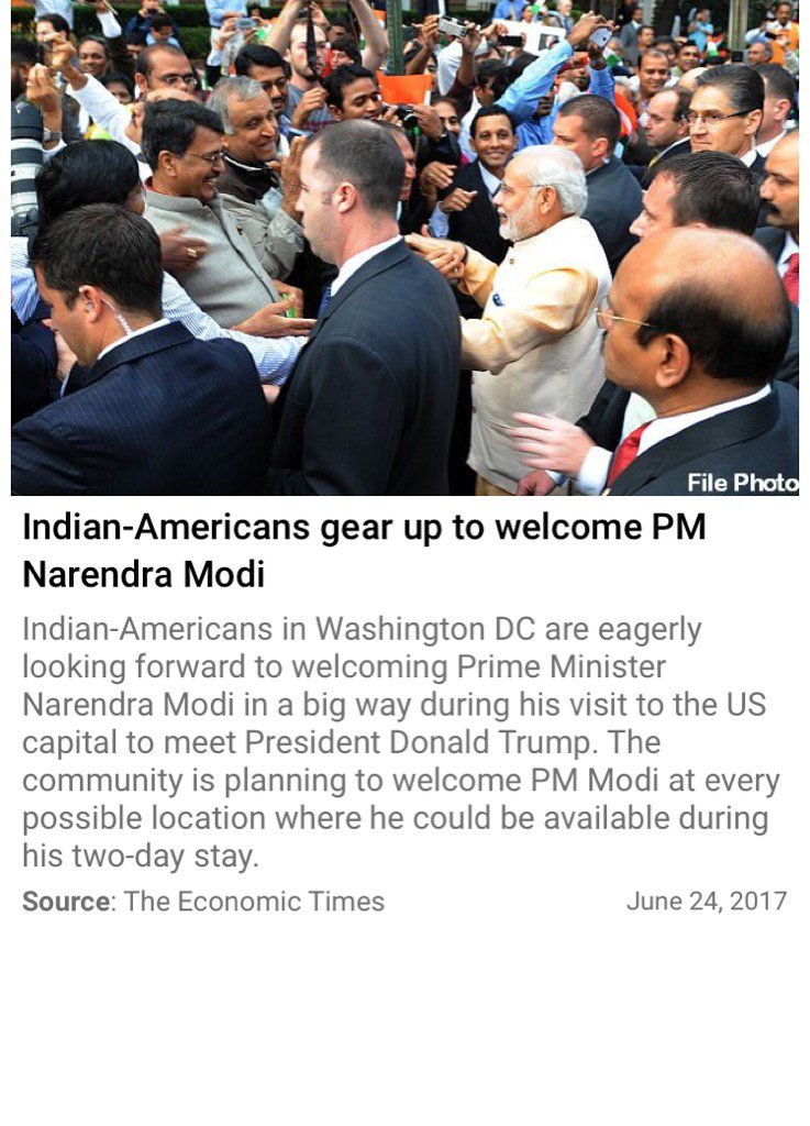 Indian-Americans gear up to welcome PM Narendra Modi  #ModiInUS