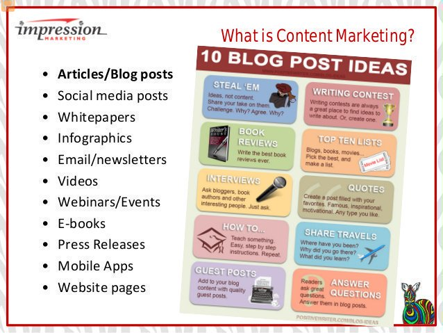 What Is Content #Marketing: 10 Blog Post Ideas [Infographic]  #Blogging #ContentMarketing #ContentStrategy #GrowthHacking #Startups<br>http://pic.twitter.com/pyBvTjfi1S