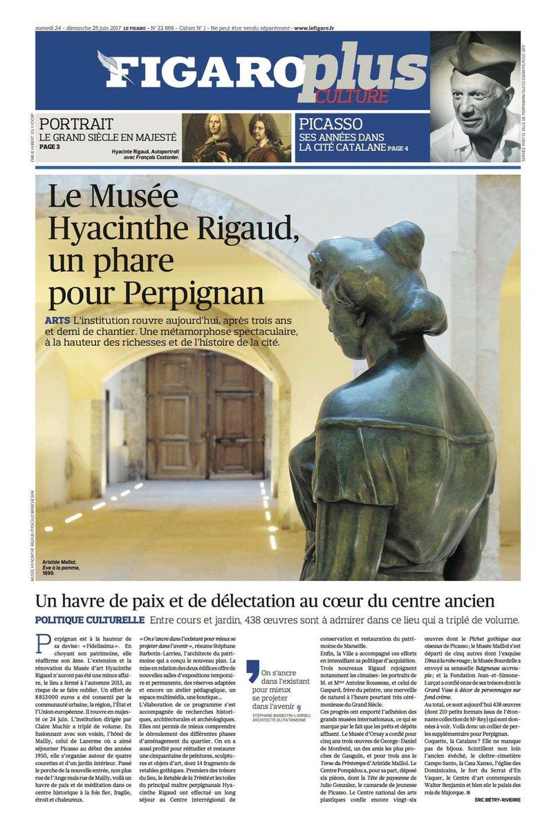 Le nouveau Musée Hyacinthe Rigaud de #Perpignan dans @Le_Figaro... htt...
