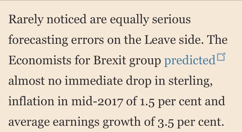 Remember Brexiters' Project Fantasy?