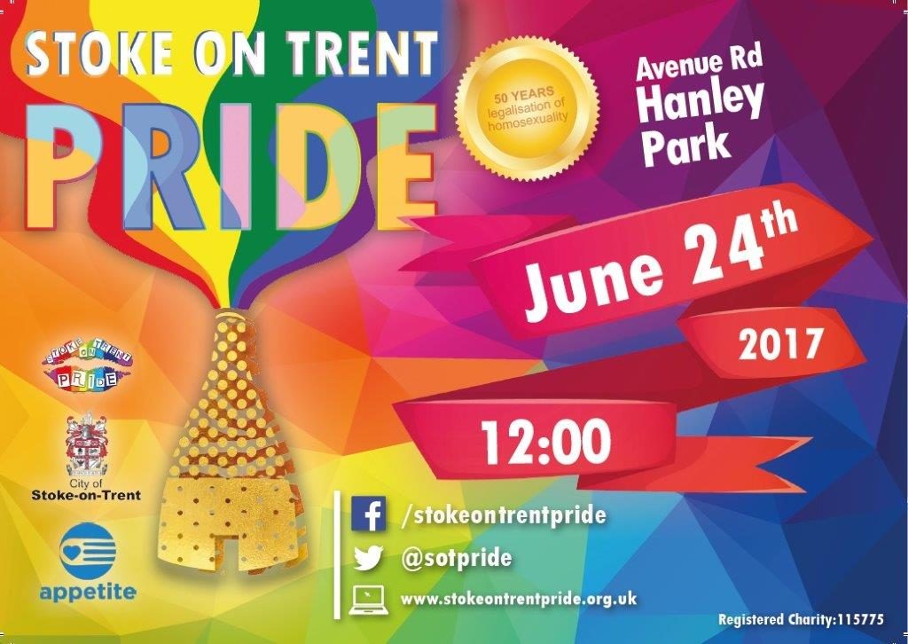 Good Morning #SoTPride goers! Just checked the weather. Seems like they&#39;ve cancelled the rain! #woohoo #seeyouthere 12pm @HanleyPark <br>http://pic.twitter.com/8W2EG4BtsY