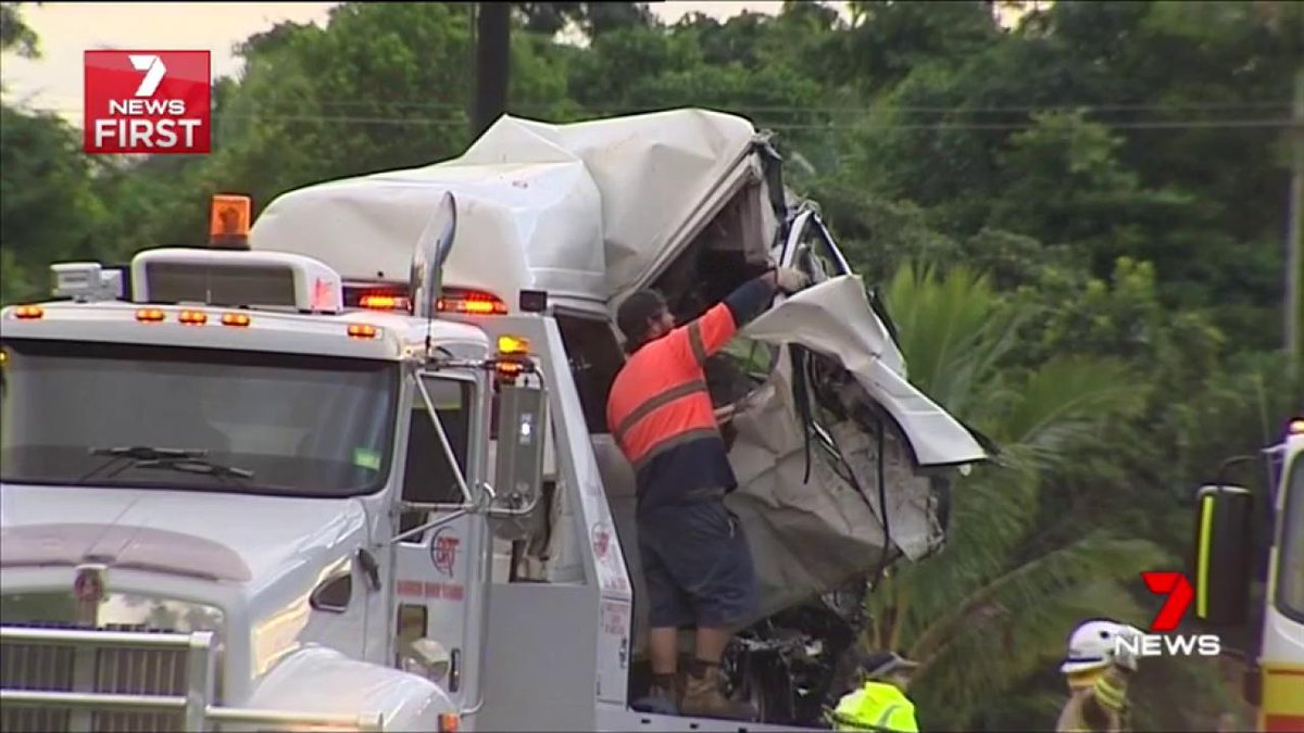 Three foreign tourists have died after a collision with a semi-trailer on the Bruce Highway. @MyleeHogan #7News