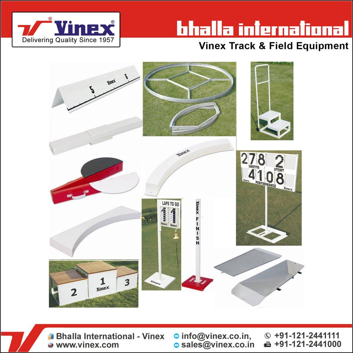 #BhallaInternational - #Vinex is one of the world&#39;s oldest #Track &amp; #Field Equipment #Manufacturer &amp; #Supplier. @  http://www. vinex.com  &nbsp;  <br>http://pic.twitter.com/QGfO5oeMwF