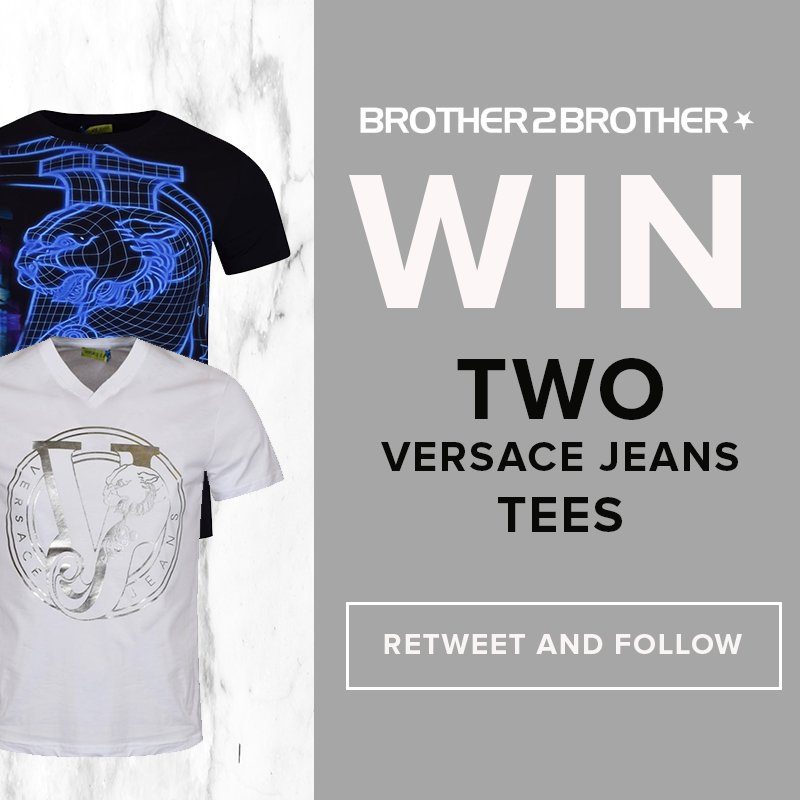 #COMPETITION! #WIN two @versace Jeans Tees! #RT + #FOLLOW to enter! Extra entries here:  http:// bit.ly/2rkmDFB  &nbsp;  <br>http://pic.twitter.com/oM5mjBPBIR