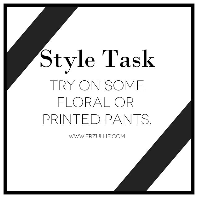 PLUS SIZE STYLE: TASK OF THE WEEK...
