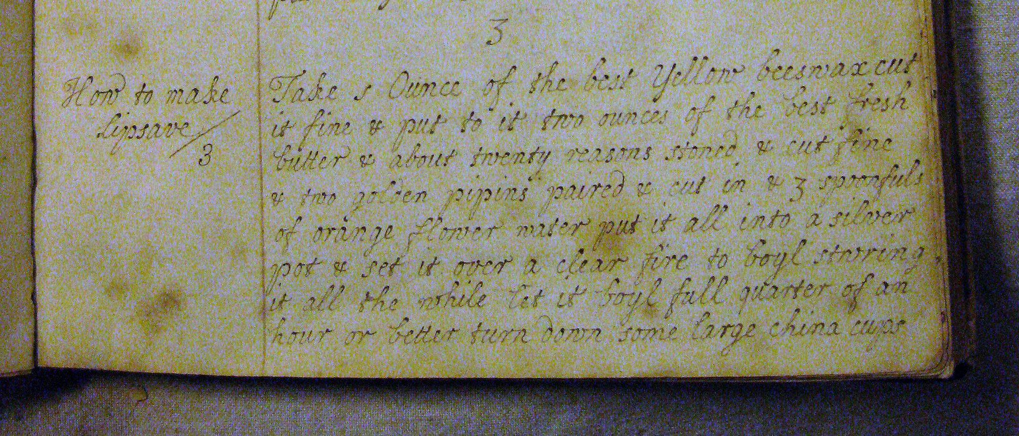 Testing remedy 'How to make Lipsave [lip salve]' from Mary Wise's 18thC recipe book #recipesconf #histmed https://t.co/24LdNx0tz8