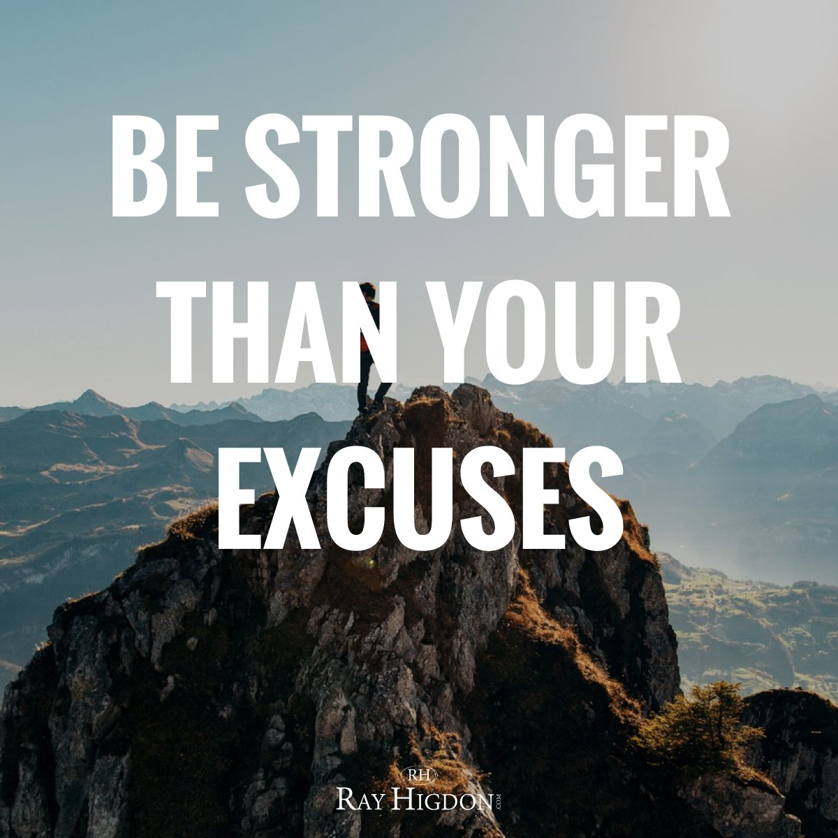 Be stronger than your excuses. https://t.co/O3PYhqZqKU