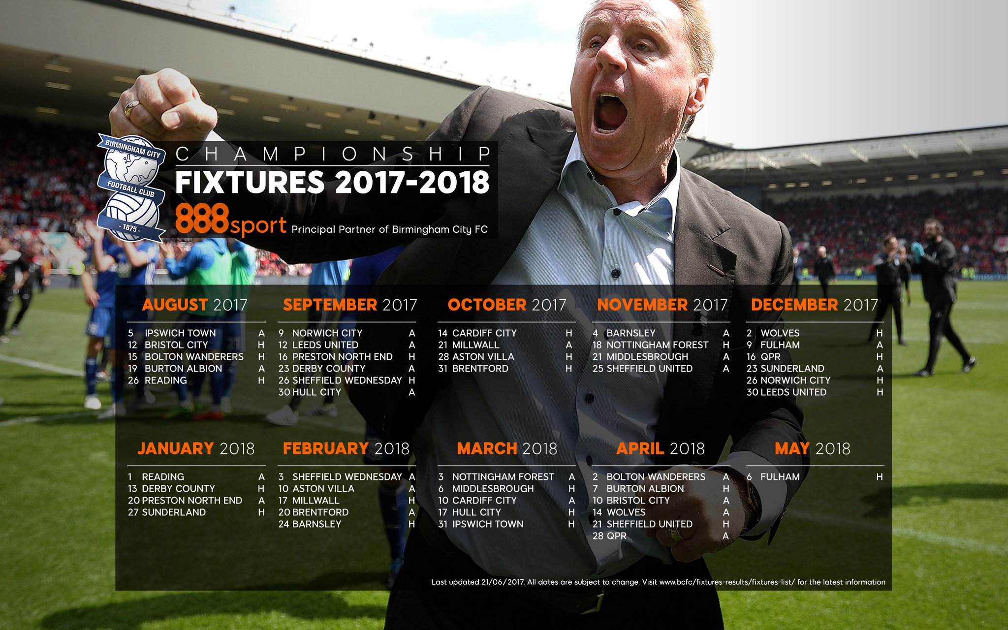 """Birmingham City FC On Twitter: """"📆👉💻 Download Our 2017/18"""