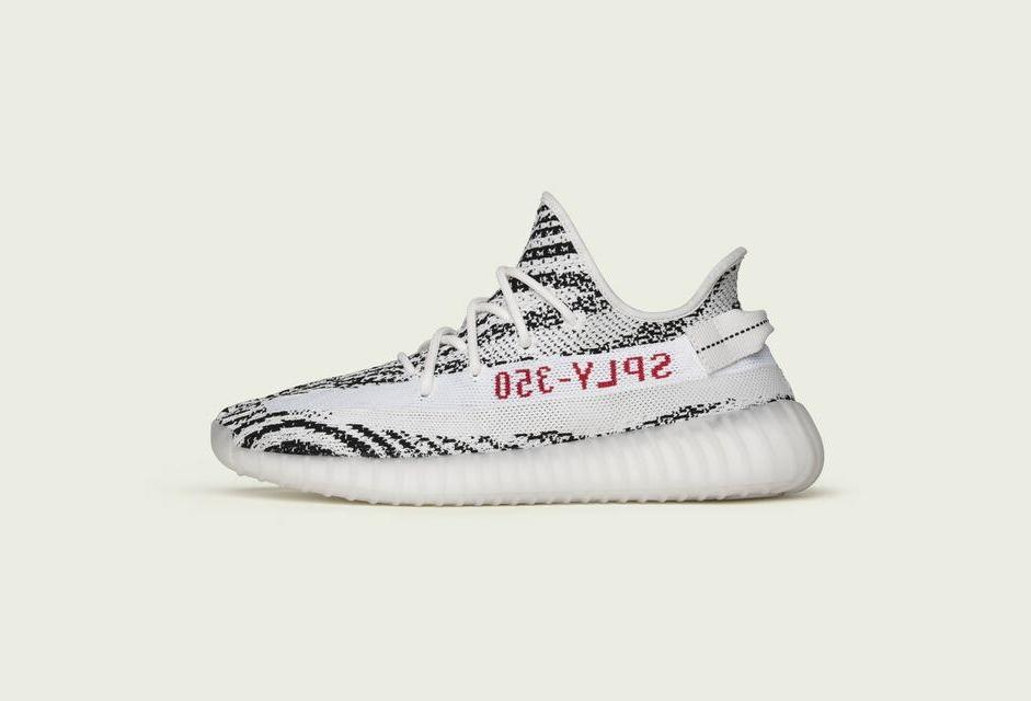 Grab Your Pair Of The @adidasoriginals Yeezy Boost 350 V2 'Zebra' Now:...