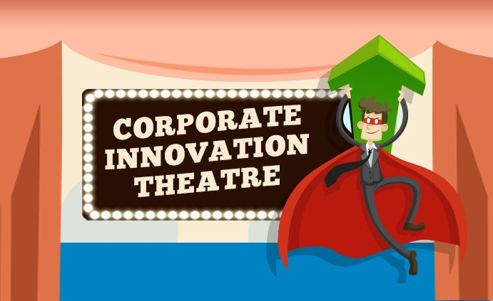 Funny infographic about #corporate innovation theatre in 8 acts via @CBinsights #CVC #Truestory #innovation  http:// ow.ly/GY8W30cOqfJ  &nbsp;  <br>http://pic.twitter.com/kVZ7xULwci