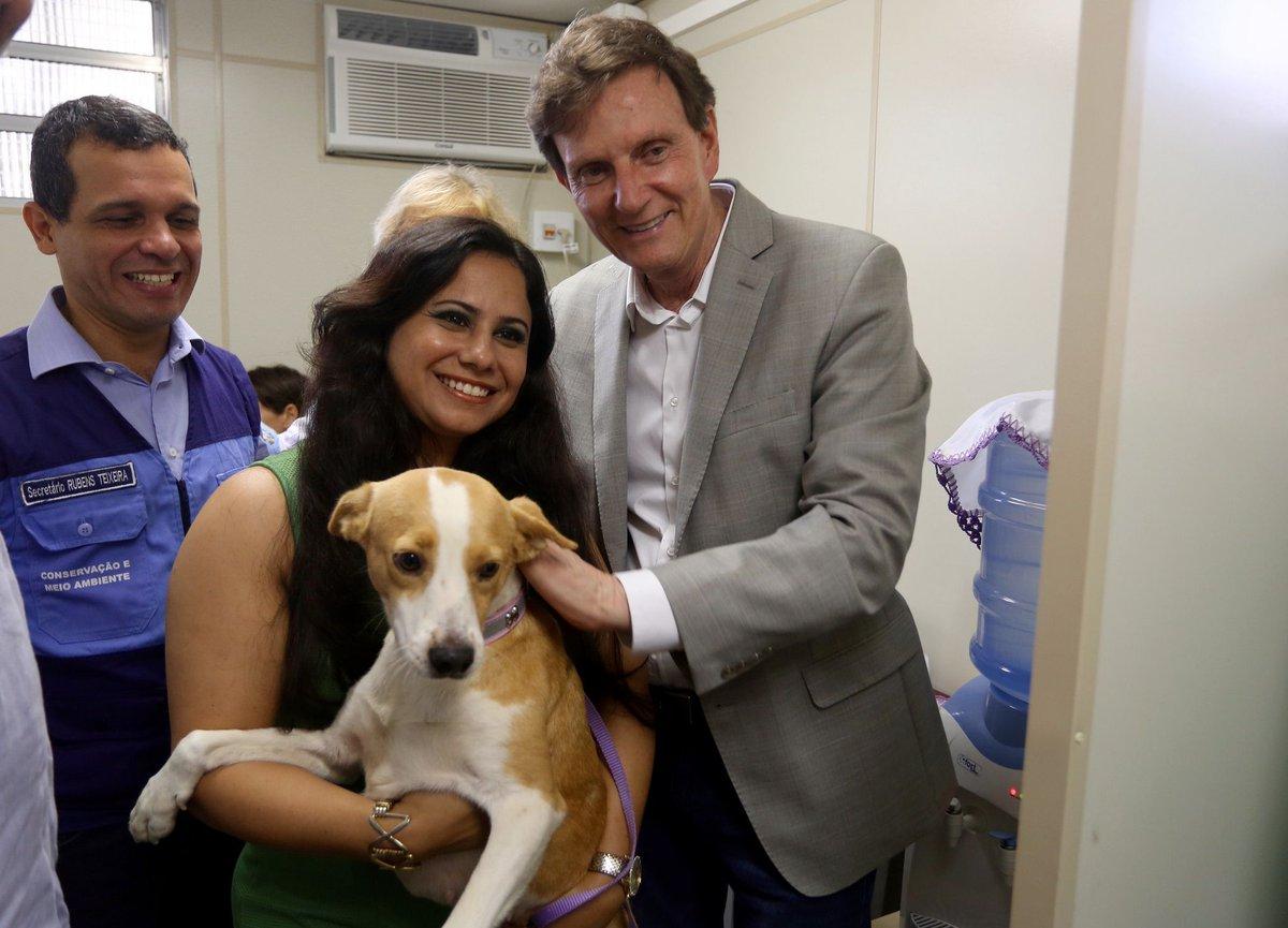 A Prefeitura do Rio inaugurou, nesta sexta-feira, o primeiro posto de saúde animal da cidade, em Bangu, na Zona Oeste.