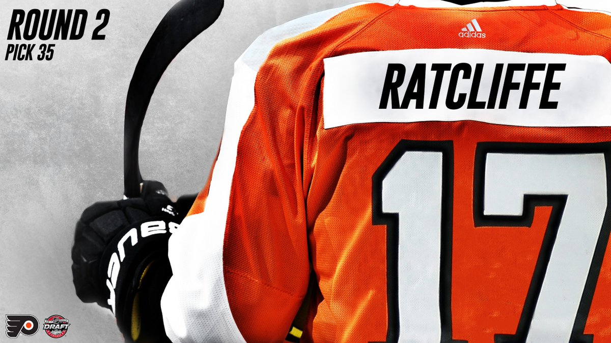 With the 35th pick in the #NHLDraft, the #Flyers have selected Isaac R...