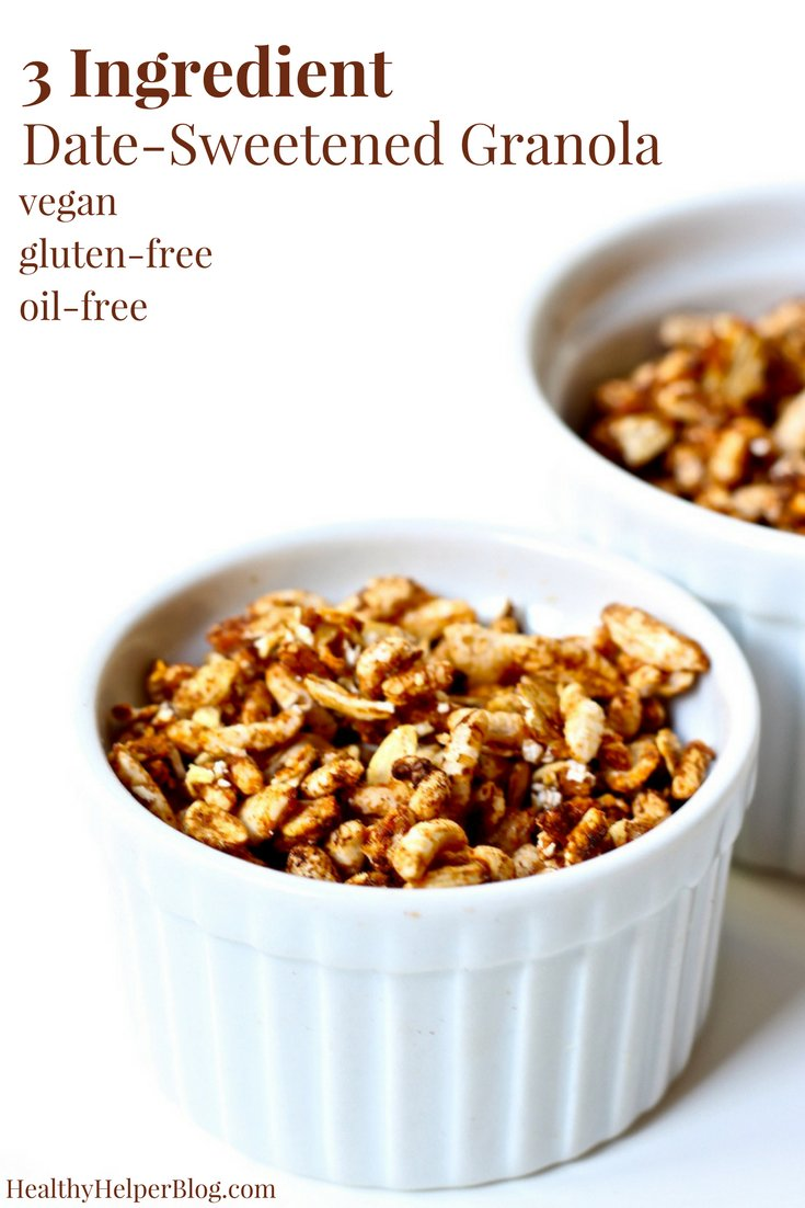 This 3 #Ingredient #Date Sweetened #Granola looks so #Healthy  http:// crwd.fr/2s7PNY3  &nbsp;  <br>http://pic.twitter.com/yzGuHA2WXF