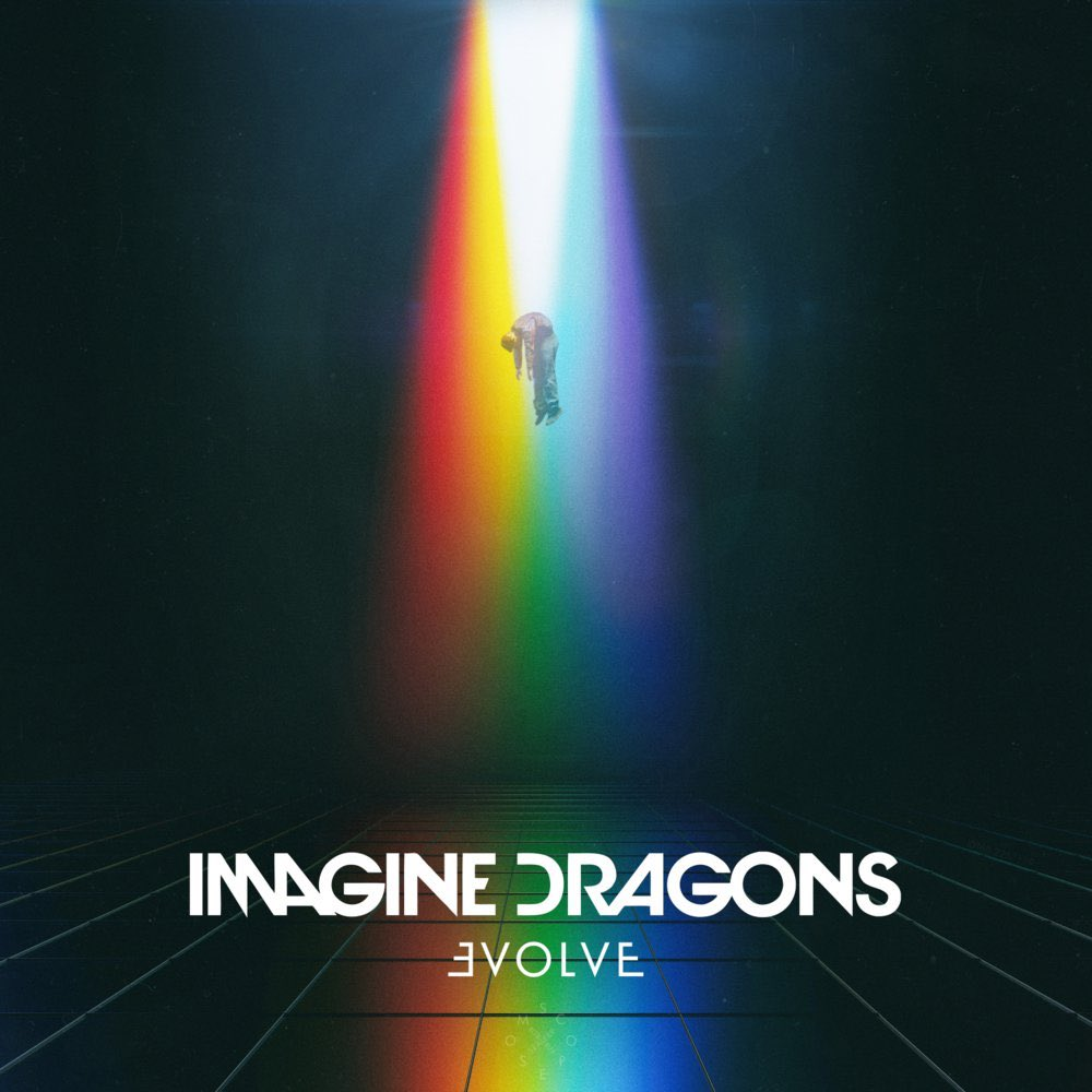 'Evolve' by Imagine Dragons has hit #1 on the Worldwide iTunes Album C...