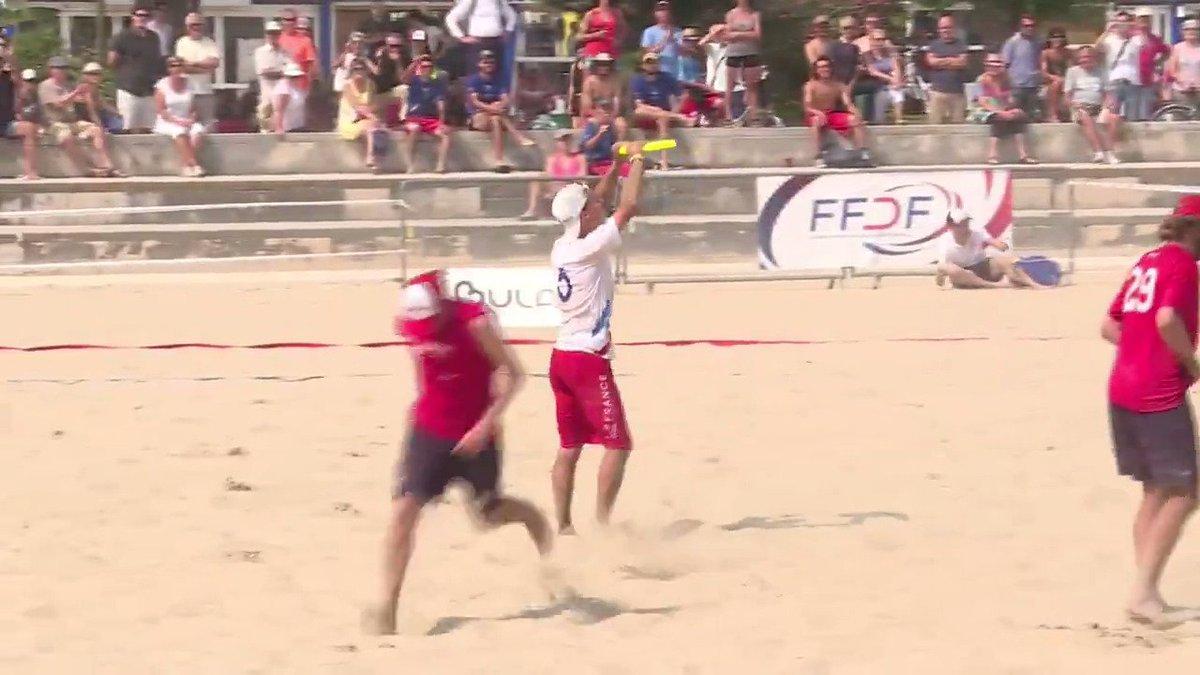 Le frisbee aussi a ses championnats du monde, et rêve des JO #AFP
