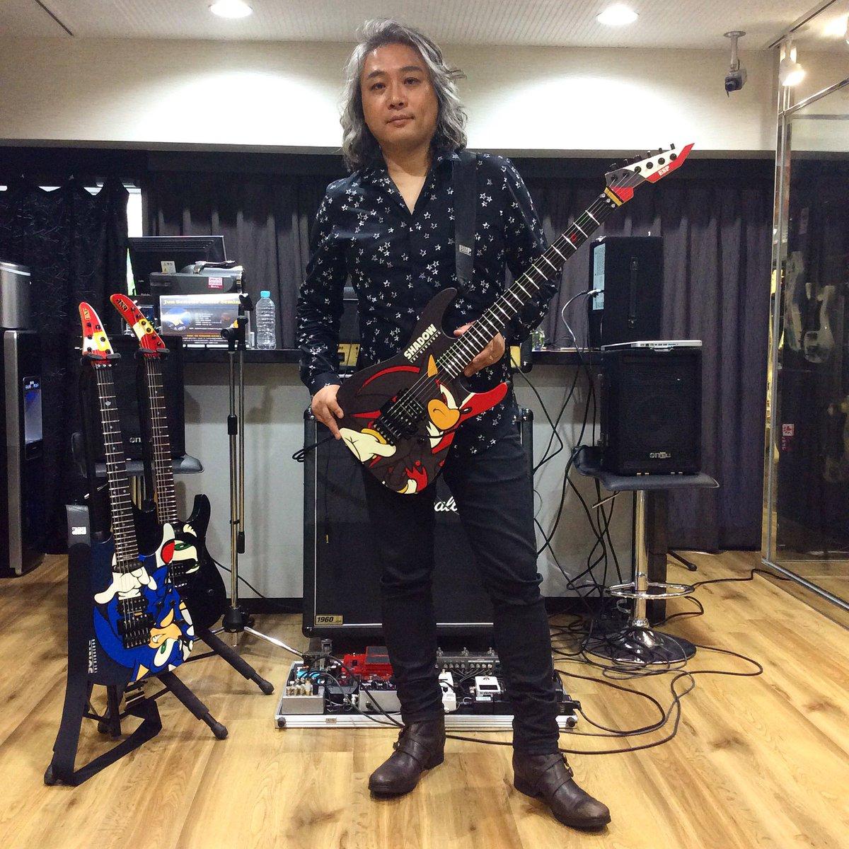 "ESP Museum Twitterissä: ""本日開催の""Jun Senoue Guitar Seminar""終了 ..."