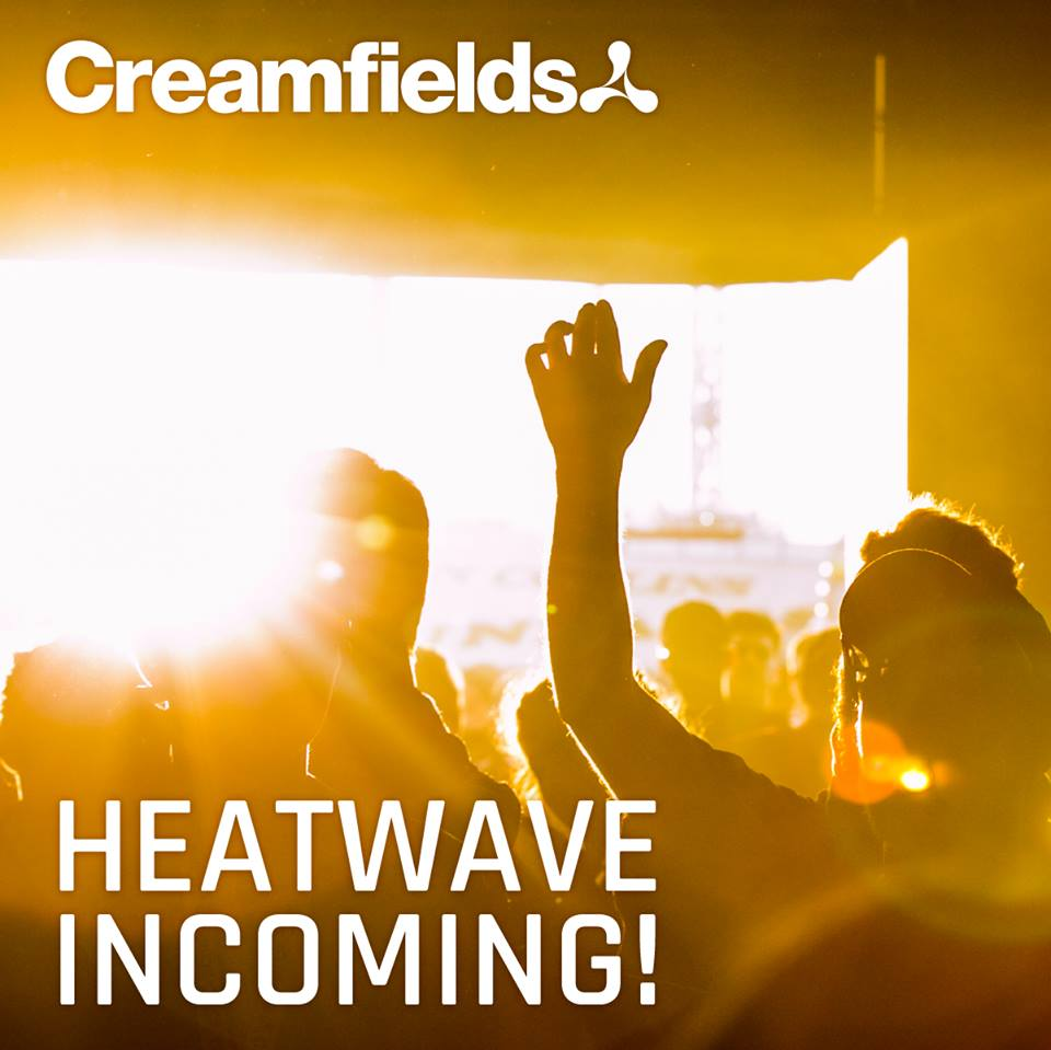 ☀️The 🔥festival of the summer has just got hotter with an August heatwave predicted! 👉 https://t.co/nJXgaNumEJ #Creamfields2017
