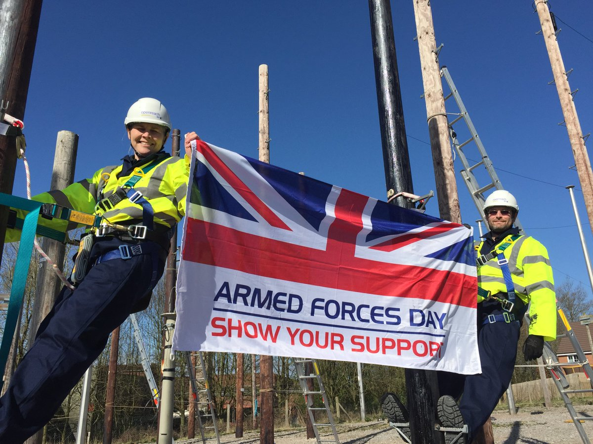 We're one of the largest employers of armed #forces veterans and reservists in the UK. #saluteourforces @ArmedForcesDay<br>http://pic.twitter.com/Ht44hc8b4G