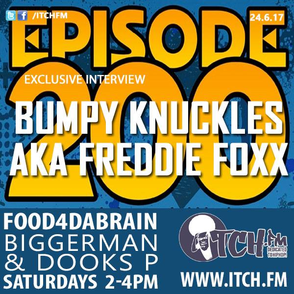 #tunein 2pmtill4pm  @FOOD4DABRAIN @ITCHFM  http://www. itch.fm/live  &nbsp;   celebrating 200 sho + @PRODIGYMOBBDEEP + @BumpyKnuckles interview #hiphop<br>http://pic.twitter.com/kAxBvgWf7S