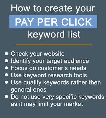 How to create your #PPC keyword list?#GrowthHacking #makeyourownlane #startups #Mpgvip #defstar5 #socialmedia #marketing #digit #Brands<br>http://pic.twitter.com/UAnhJcnTUa