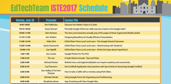 MONDAY, MONDAY! Sign up to WIN next week at #ISTE17 VIRTUALLY or in-person  https:// goo.gl/ty1Ja5  &nbsp;   @isteconnects #EdTechTeam #edtech <br>http://pic.twitter.com/DLn5eHV2FF