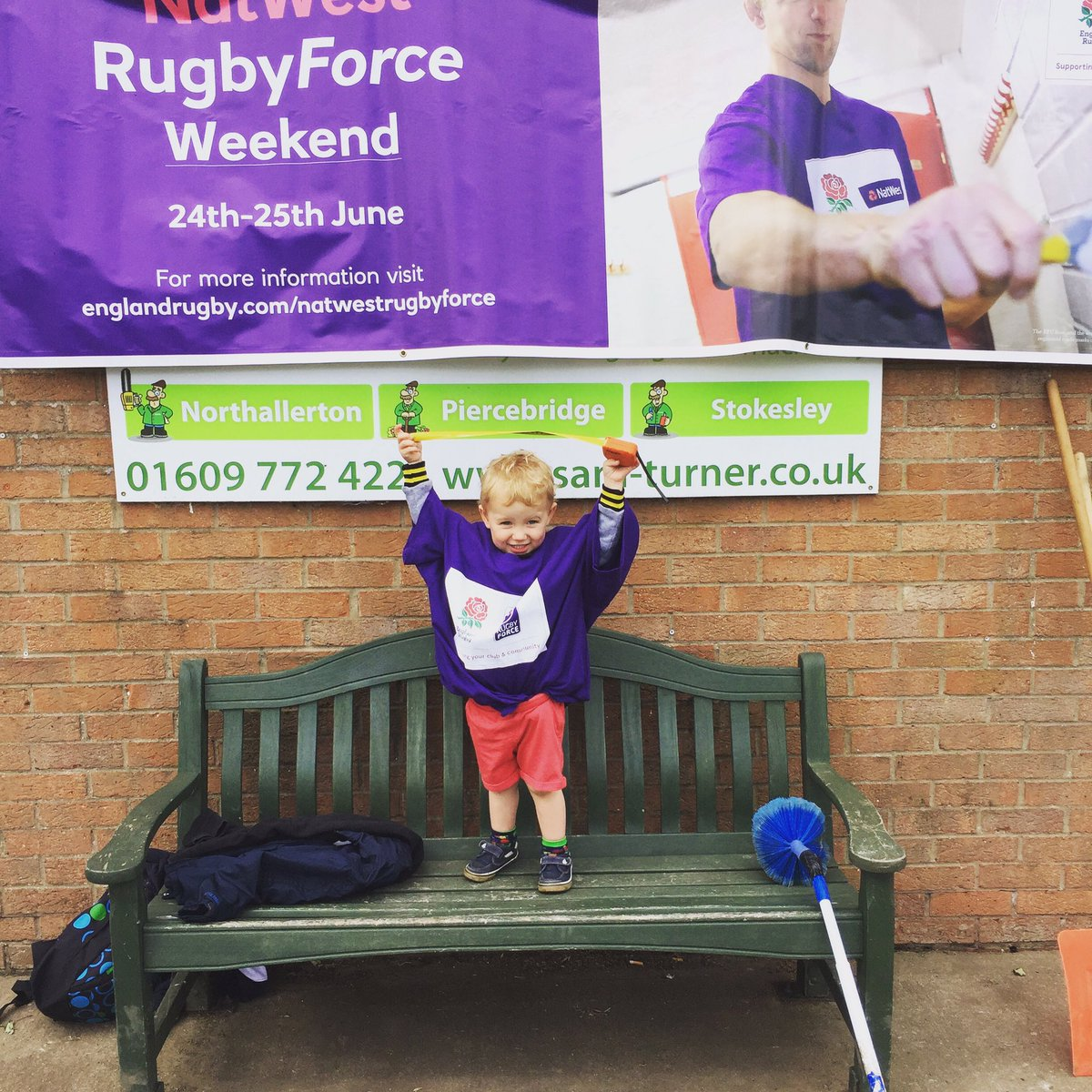 Seth Watts getting involved with Nat West Rugby Force weekend down at @northrugby #rugby @NatWest_Help #rugbyfamily #NRUFC<br>http://pic.twitter.com/8usK4LqPJM