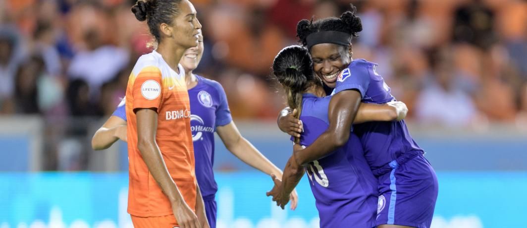 Pride look to continue last weekend's success today at home. #ORLvHOU...
