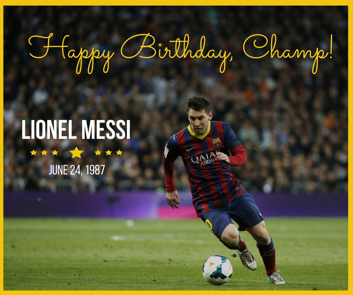 As Yoda says, size matters not.Happy Birthday Lionel!  #LionelMessi #birthday #HappyBirthday #soccer #soccermom #StarWars #saturday<br>http://pic.twitter.com/r2xq6LxiaE