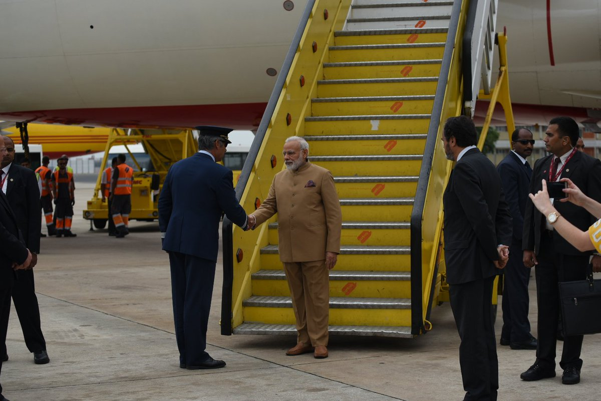 Landed in Portugal. My brief visit will further strengthen relations between India and Portugal.