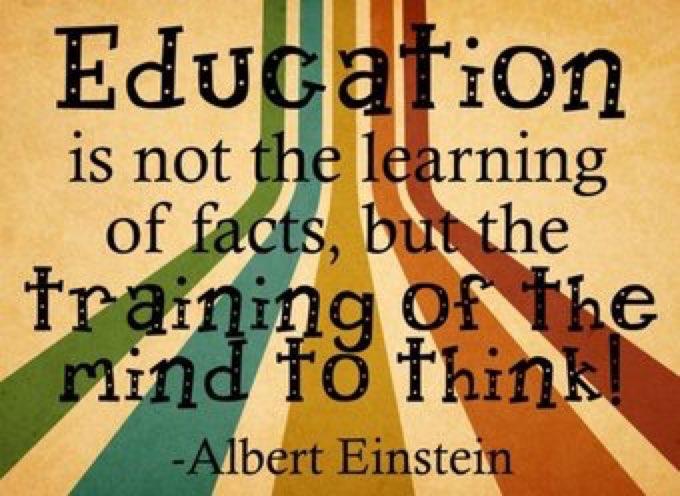 Education has become a test  of Regurgitation ~ John Mc Grath  #Weeken...