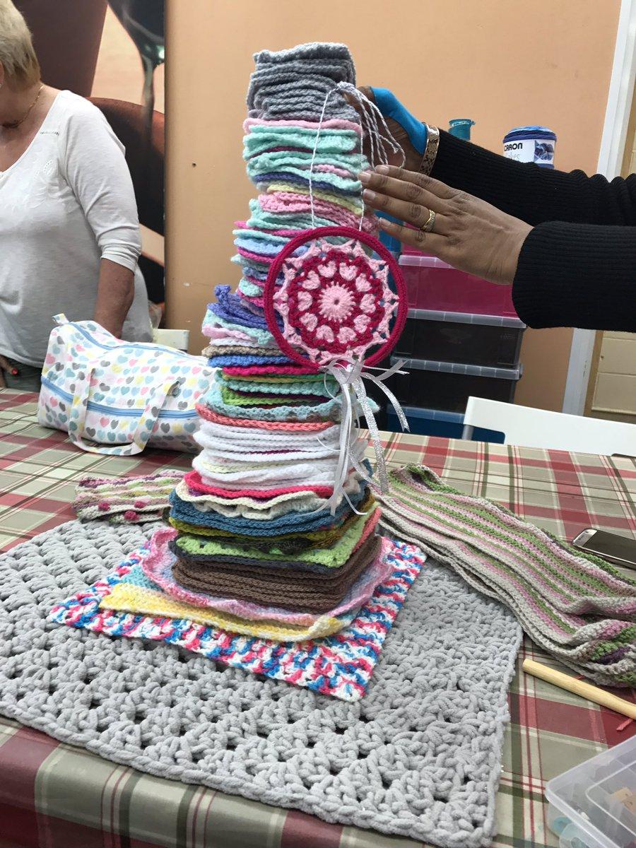 #shareyourknitcraft #knitcraftsocial nee blocks for #AprilJones tree @...