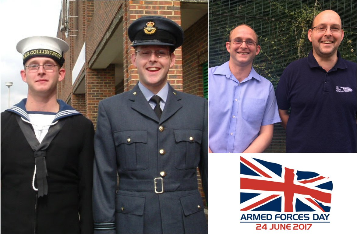 Luke and Lee Markwell followed their father into the #Forces and now use their skills at @UKPNnews #ArmedForcesDay  http:// bit.ly/2rJcS0c  &nbsp;  <br>http://pic.twitter.com/lGLBdHLEQz