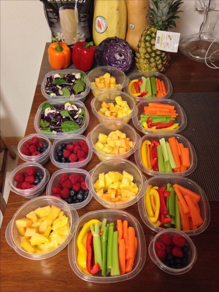 Prepping proteins, complex carbs +!#veggies over the weekend helps you stay on track &amp; reduces #stress for workweek.<br>http://pic.twitter.com/VYRFltNMnS
