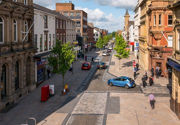 That junction... we love the shared space.. #Preston #Lancashire #Nort...