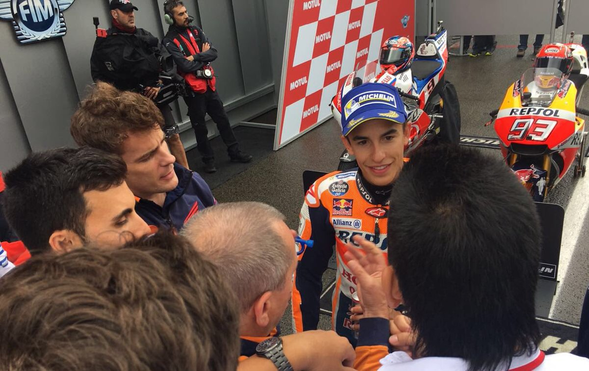 .@marcmarquez93 P2 (1'46.206) and @26_Da...