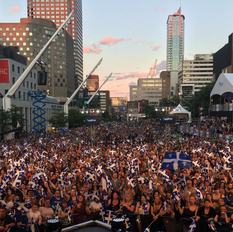Happy St-Jean-Baptiste Day! Let's celebrates #Quebec culture and its role in shaping Canadian identity #FêteNationale fetenatmtl/IG<br>http://pic.twitter.com/t02sp6eZKI