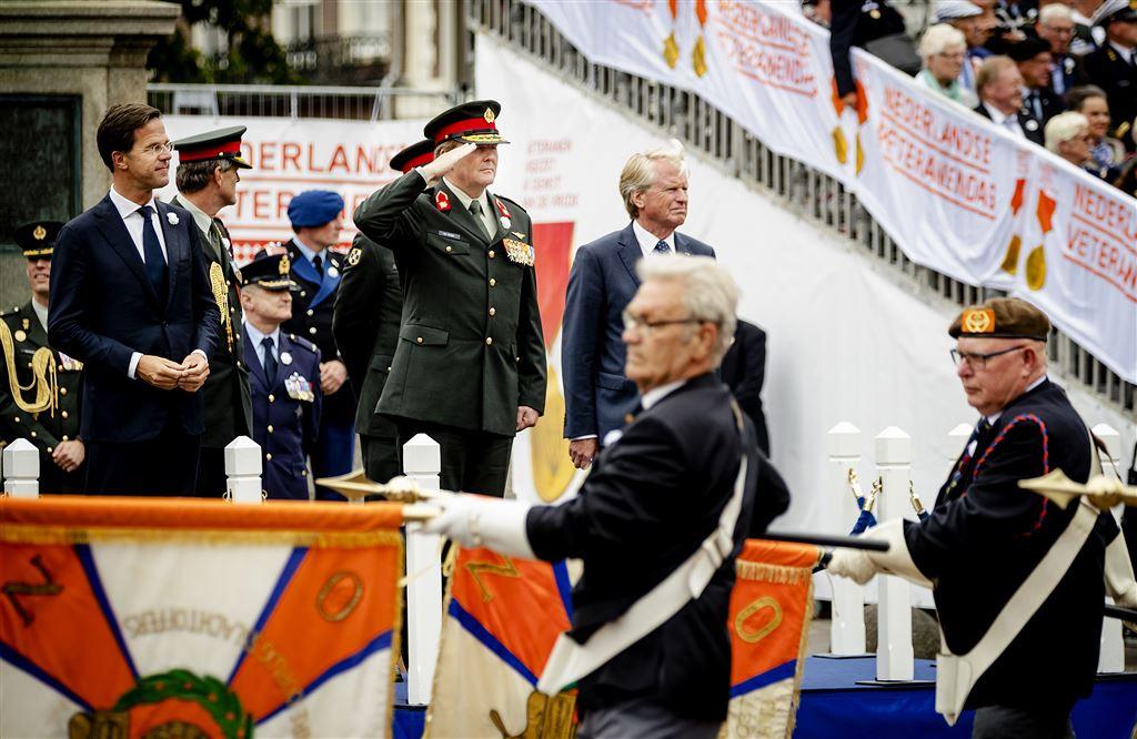 Король Виллем-Александр посетил День ветеранов в Гааге