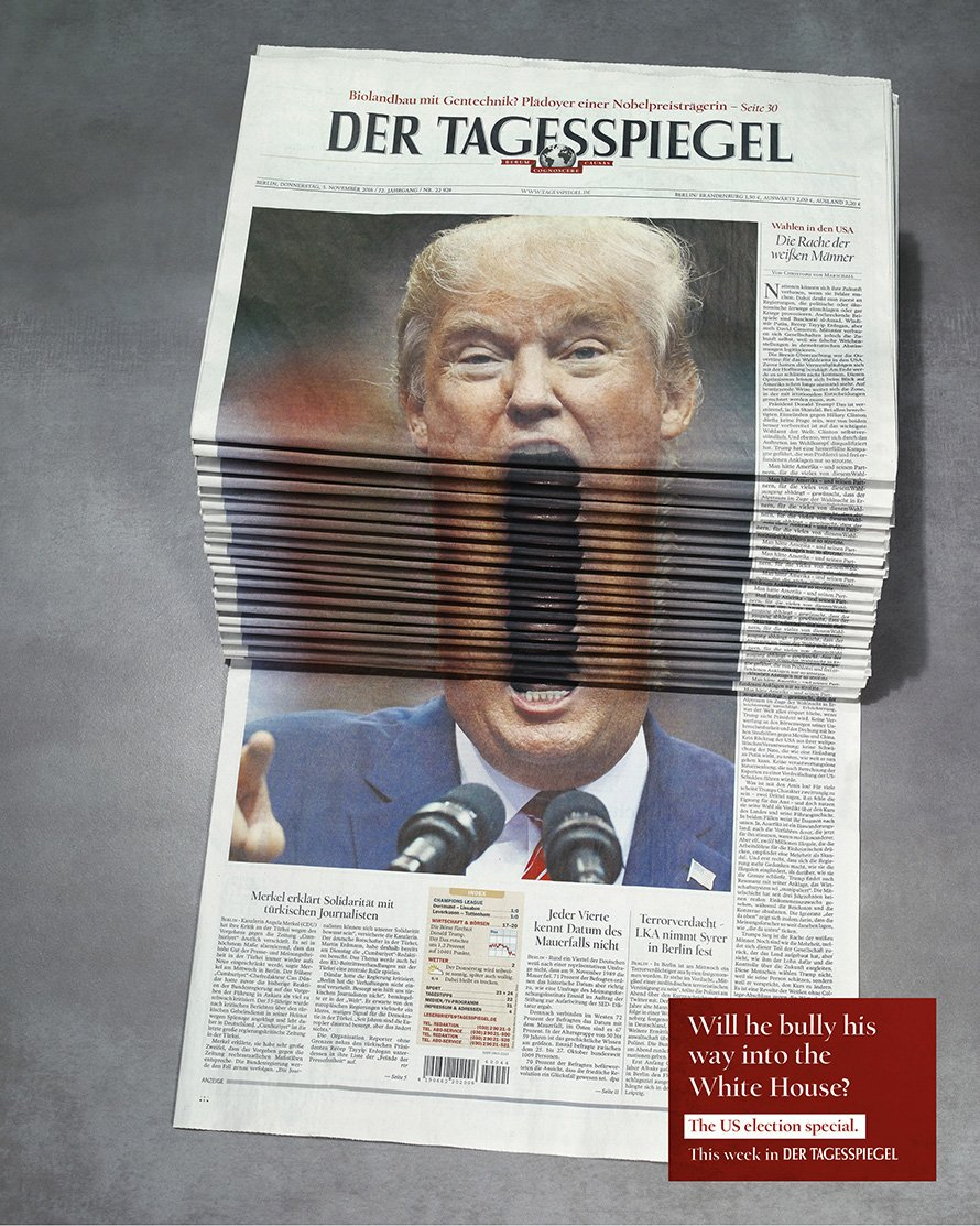 The story of the brilliant, incendiary Trump ad that has #CannesLions...
