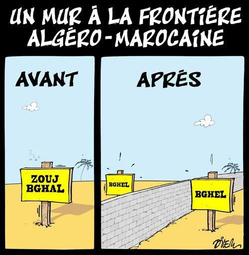 """Khaled Drareni в Twitter: """"""""Les hommes construisent trop de murs et pas  assez de ponts."""" Isaac Newton #Algérie #Maroc #Maghreb… """""""