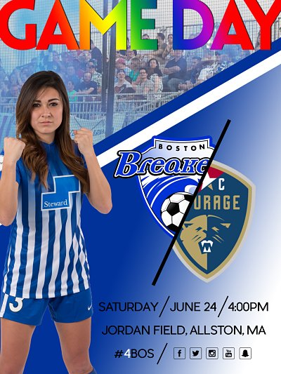 IT IS GAME DAY!!! #BOSvNC 4pm ET Watch live on @go90Zone (U.S.) or htt...