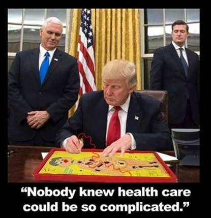 thankfully, the President is working hard to fix our national healthcare crisis ... https://t.co/P5Y