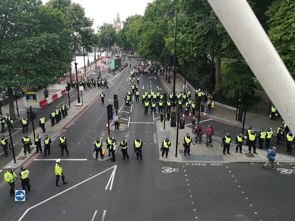Well, the EDL London rally was... Less than impressive... 😄😄😄