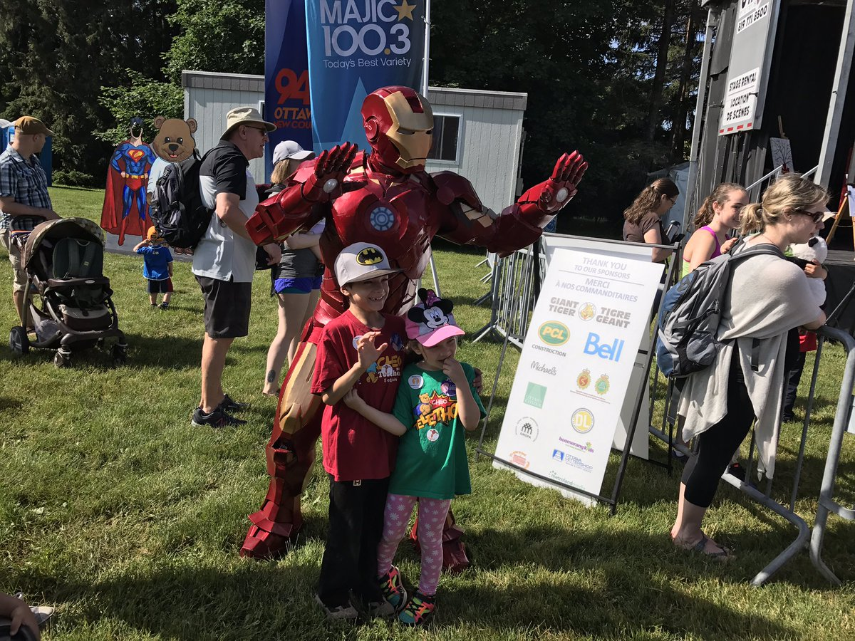 Today's #TeddyBearsPicnic is full of Superheroes! Not only Ironman, bu...