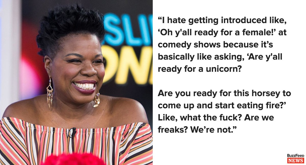 Leslie Jones doesn't care about the trolls. She just wants to make you laugh https://t.co/LZ658nTffK