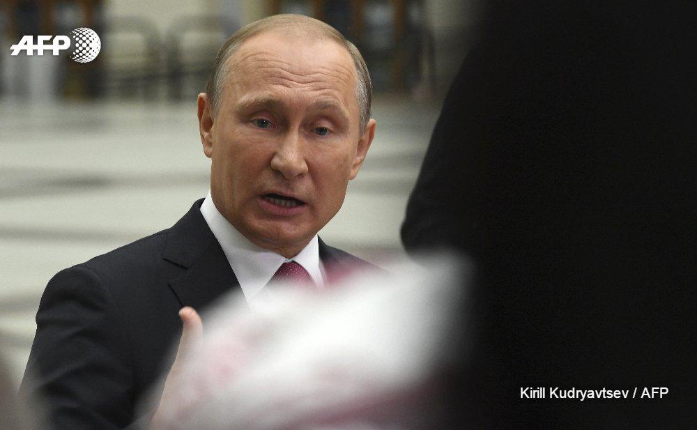 Poutine fait l'éloge des agents de renseignement clandestins https://t.co/4nERP9YWoe #AFP