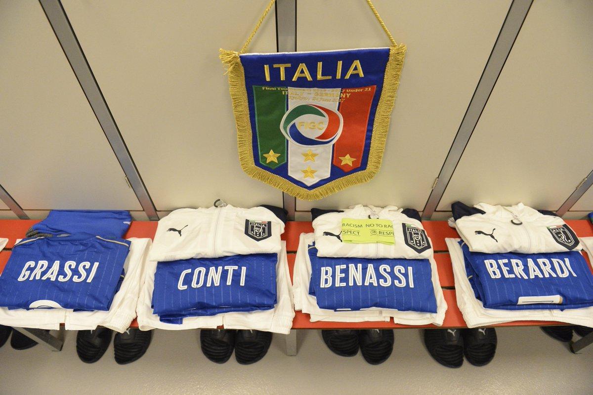 #U21Euro   Alle 20.45 #ItaliaGermania 🇮🇹🇩🇪 📺 Tv #RaiUno  #Under21 #Viv...