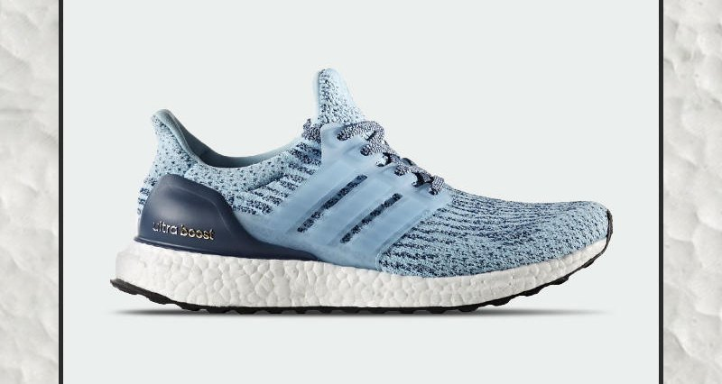 The @adidas UltraBOOST Gets An Icy Blue Makeup For The Ladies. Grab Yo...