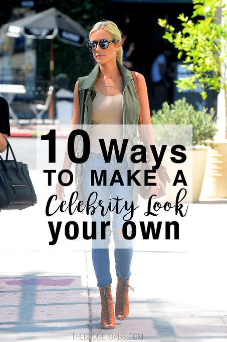 10 Ways to Make a Celebrity Look Your Own