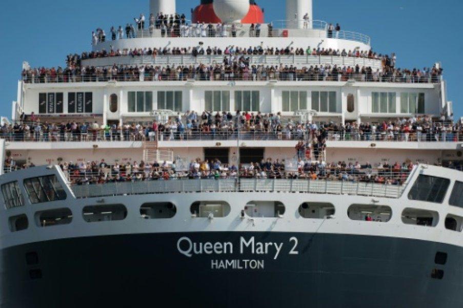 Le Queen Mary 2 de retour à Saint-Nazaire https://t.co/N3Bf9i7u2E