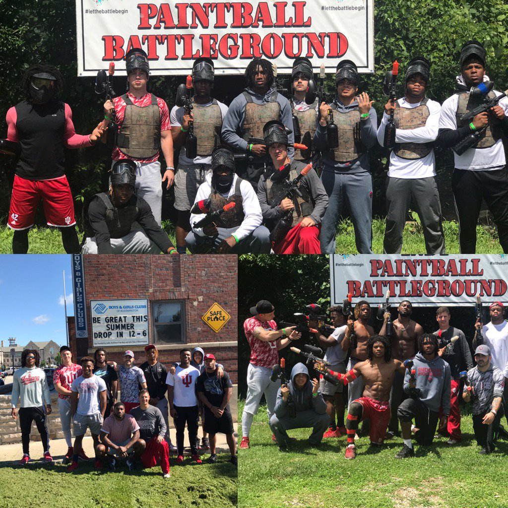 It's more than just football, it's family . Had a great time helping o...